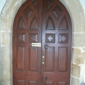 Doorway inside the Porch - Arlingham Church