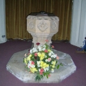 The Font, Coaley Parish Church, Gloucestershire