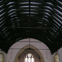 The Nave Roof, Rockhampton Church, Gloucestershire