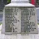 Henry James Weaver is commemorated on Tavistock War Memorial