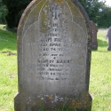 Gravestone of John Fryer (b abt 1817) and his wife, Sarah (nee Watkins)