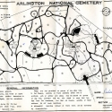 Map of Arlington National Cemetery (1964)