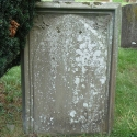 Headstone of Edward Warren and his wife, Hannah (nee Fryer)