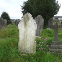 Rear of the headstone of Alice Hibbitt (nee Ridley)