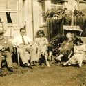 Hibbitt Family Group with Ivy Dando, circa 1920's