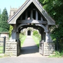 The Lych Gate at St John Baptist Church, Claines