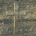 Original Cross which marked the Grave of Henry James Weaver