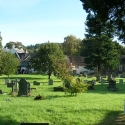 The Churchyard at Newland in the Forest of Dean, Gloucestershire