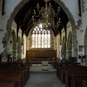 The Central Aisle at All Saints Church, Newland, Gloucestershire