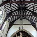 The Ornate Roof at All Saints Church, Newland, Gloucestershire