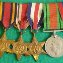 William Hellyer Geake's World War II Medals (Obverse)