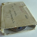 Original Box containing Henry James Weaver's WWI Medals
