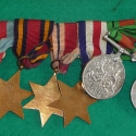 William Hellyer Geake's World War II Medals (Reverse)
